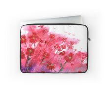 Flowers - Dancing Poppies Laptop Sleeve