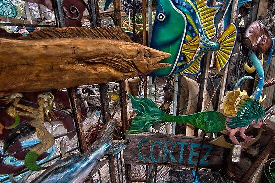 Cortez Fishing Village, Florida by John Hartung