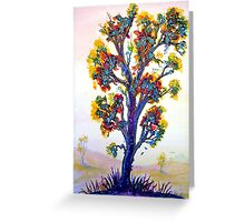 The Rainbow Tree Greeting Card