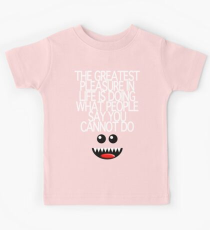 THE GREATEST PLEASURE Kids Tee