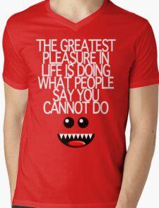THE GREATEST PLEASURE Mens V-Neck T-Shirt