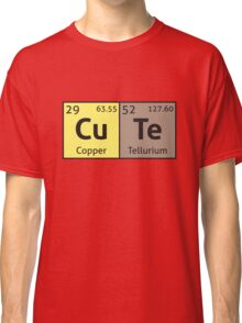 Periodic Table - Cute Classic T-Shirt