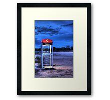 Night Line Framed Print