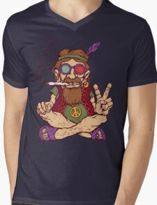 Hippy Mens V-Neck T-Shirt