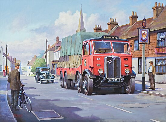 AEC Bowaters paper. by Mike Jeffries
