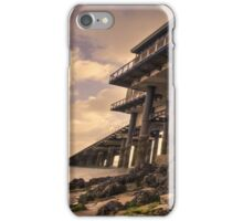 The New Lifeboat House at Tenby  iPhone Case/Skin
