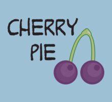 Purple Cherry One Piece - Short Sleeve