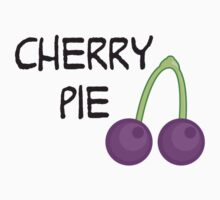 Purple Cherry One Piece - Long Sleeve