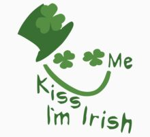 Kiss Me I'm Irish Boy st.Patrick's day by cheeckymonkey