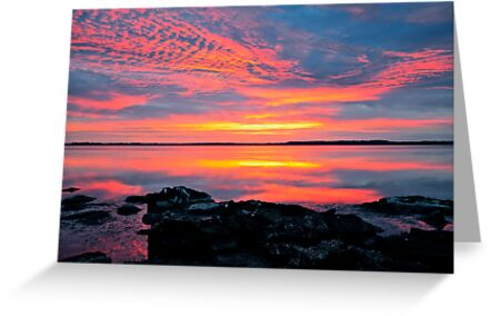 30 minutes before sunrise. 27-2-12. by Julie  White