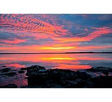 30 minutes before sunrise. 27-2-12. Photographic Print