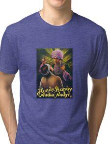 Handy Bandy Magician Vintage Advertisement Tri-blend T-Shirt