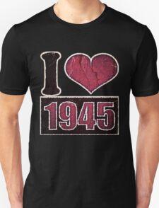 I heart 1945 Vintage T-Shirt T-Shirt
