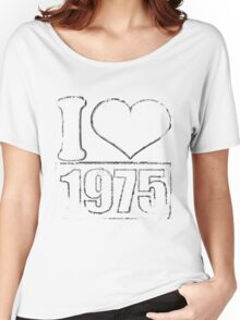 Vintage I love 1975 T-Shirt Women's Relaxed Fit T-Shirt