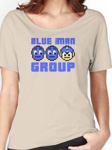 Blue Mega-Man Group Women's Relaxed Fit T-Shirt