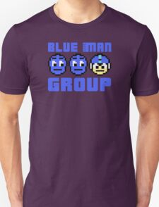 Blue Mega-Man Group Unisex T-Shirt