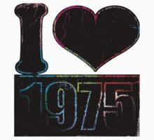 Vintage I heart 1975 T-shirt Kids Tee