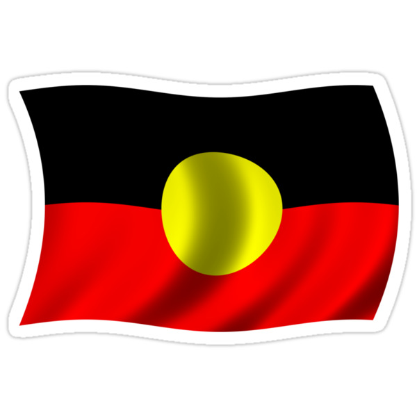 aboriginal flag of australia by nadil