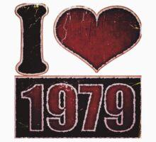I heart 1979 Vintage One Piece - Long Sleeve
