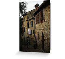 San Gimignano - Toscana Greeting Card