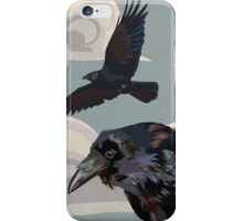 Crow invasion iPhone Case/Skin