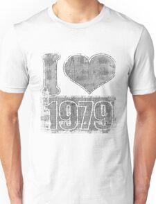 I love 1979 Vintage Unisex T-Shirt