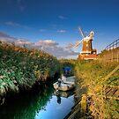Cley Windmill by hebrideslight