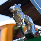 Hood Ornaments - Bull Dog Mack #1 by Deborah McGrath