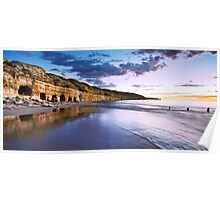 Fisherman's Caves Panorama Poster