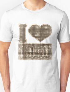 I love 1980 Vintage T-Shirt T-Shirt