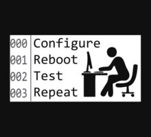 Configure Reboot Test Repeat by sciencyshtuff
