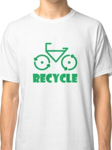 Recycle Bicycle Classic T-Shirt