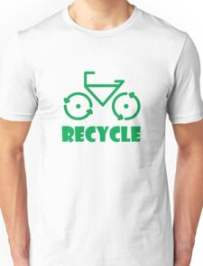 Recycle Bicycle Unisex T-Shirt