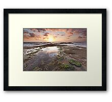 The Battle of Land and Sky Framed Print