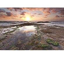 The Battle of Land and Sky Photographic Print