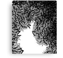 Pop macrame Canvas Print