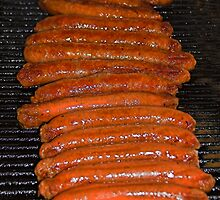 Barbecue Sausages by Geoffrey Higges