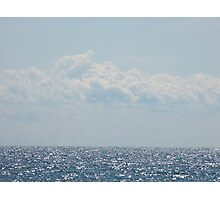 Lake Ontario Blues Photographic Print