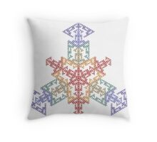 Exploded Diagram Throw Pillow
