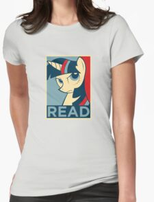 READ Womens Fitted T-Shirt