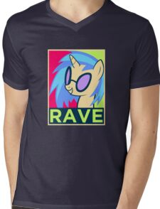 RAVE Mens V-Neck T-Shirt