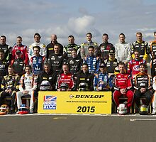 BTCC 2015 Touring Car Full Driver Line Up by F1Profiles