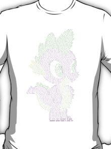 Spike Typography shirt T-Shirt