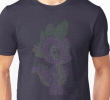 Spike Typography shirt Unisex T-Shirt