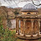 Temple of Apollo, Stourhead Gardens ~ National Trust by Clive