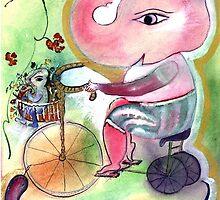 Tricycle Ganesha by santoshimoksha