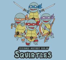 Teenage Mutant Ninja Squirtles by Krakalaken