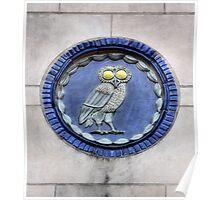 Rice University Owl Poster