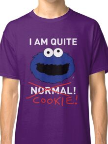 COOKIE MONSTER (WHITE TEXT) Classic T-Shirt
