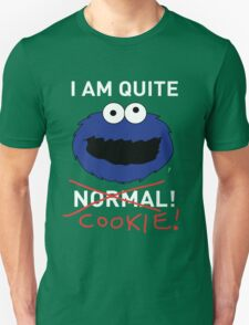 COOKIE MONSTER (WHITE TEXT) Unisex T-Shirt